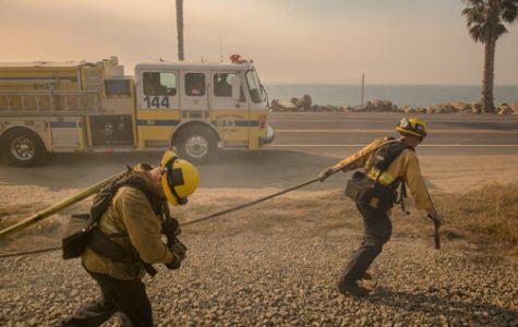 Wild Fires Reach San Diego