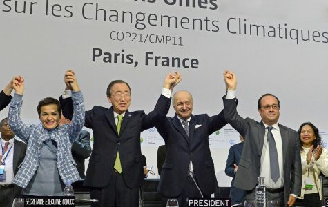 California's appearance at the Paris Climate Accords