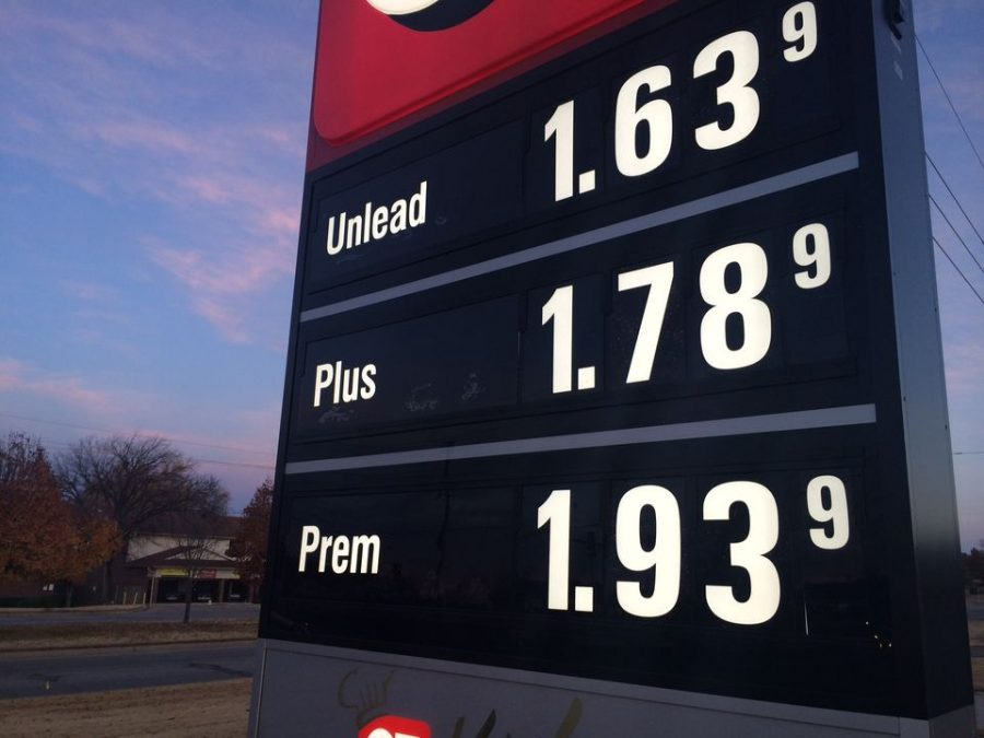 Gas Prices San Diego >> San Diego Gas Prices Increasing – The Cardinal