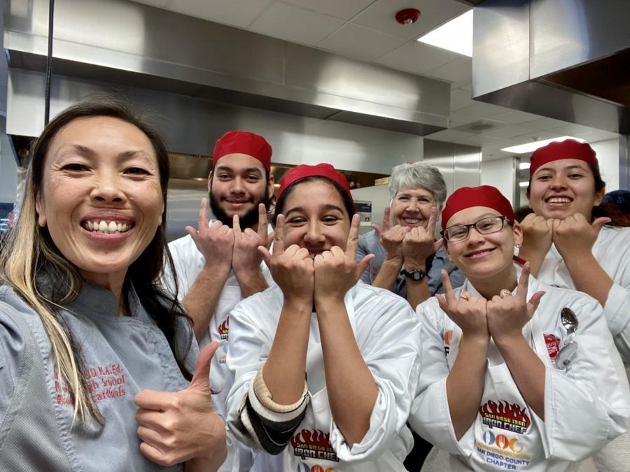 Teen Iron chefs give it their all!