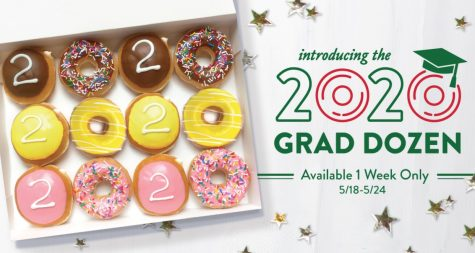 Krispy Kreme celebrates Class of 2020!
