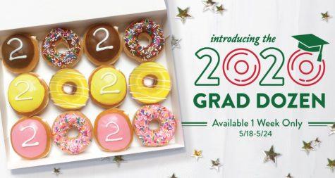 Krispy Kreme celebrates Class of 2020!